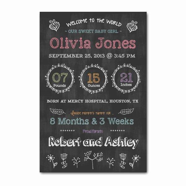 Chalkboard Poster Template Free Lovely Newborn Chalkboard Poster Template Word