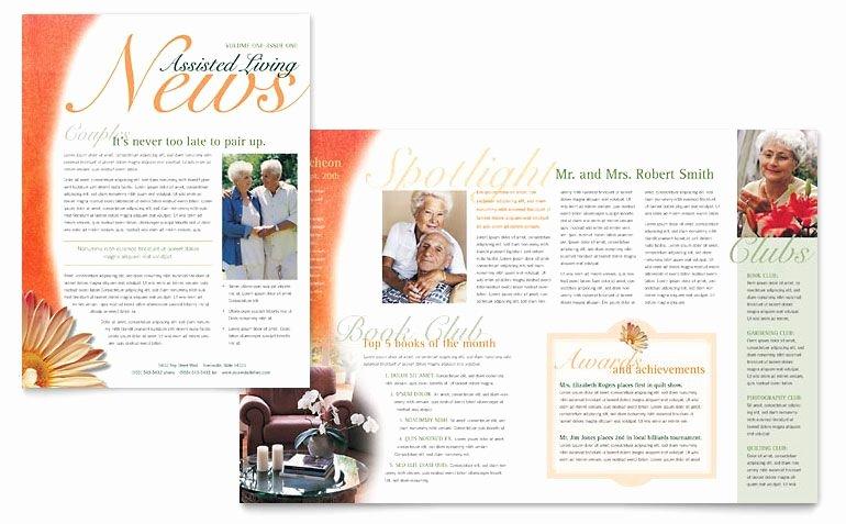 Church Bulletin Templates Microsoft Publisher Elegant Newsletter formats