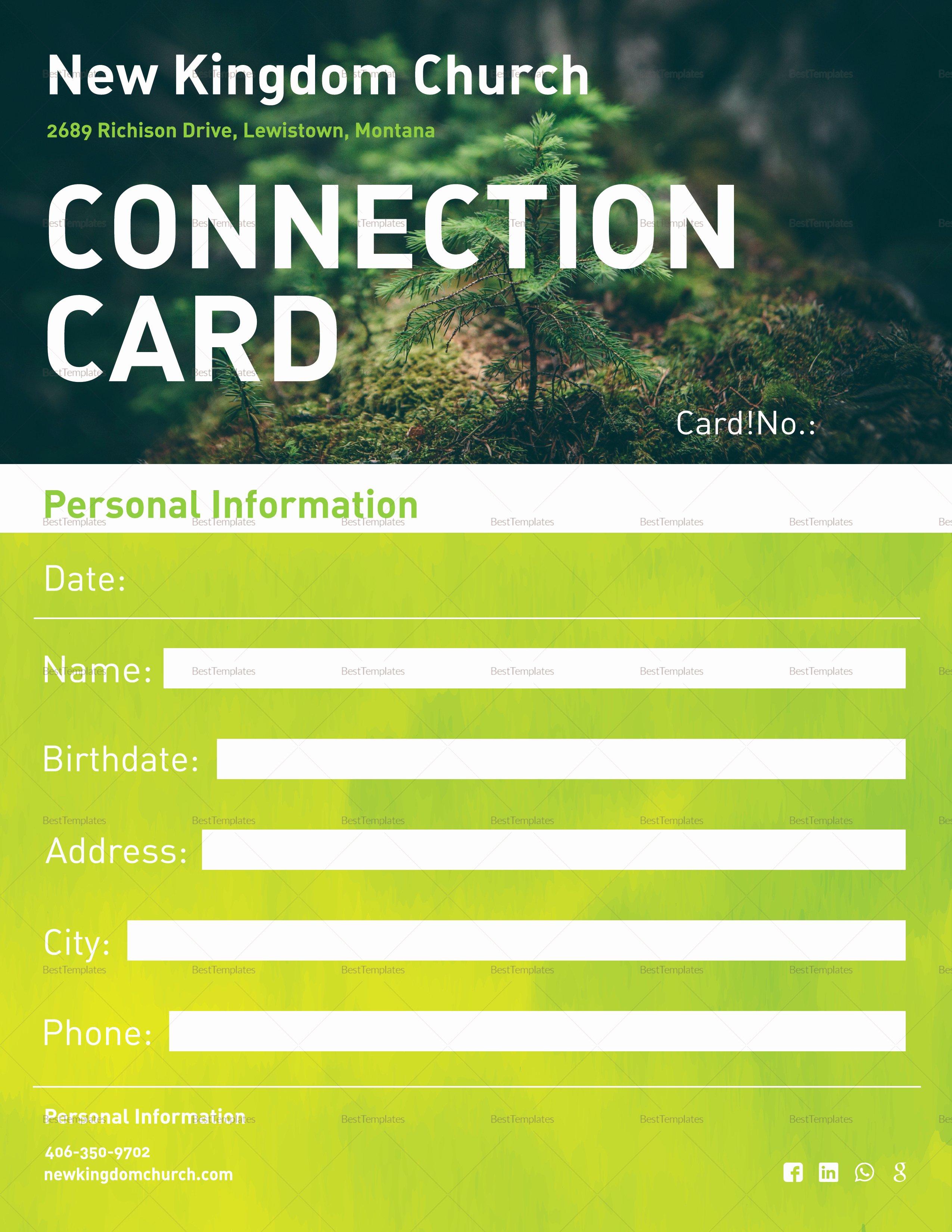 Church Bulletin Templates Microsoft Publisher Fresh Church Bulletin and Connect Card Flyer Design Template In