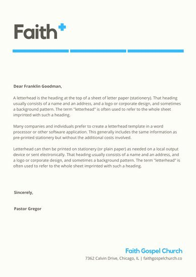 Church Letterhead Templates Inspirational Customize 40 Church Letterhead Templates Online Canva