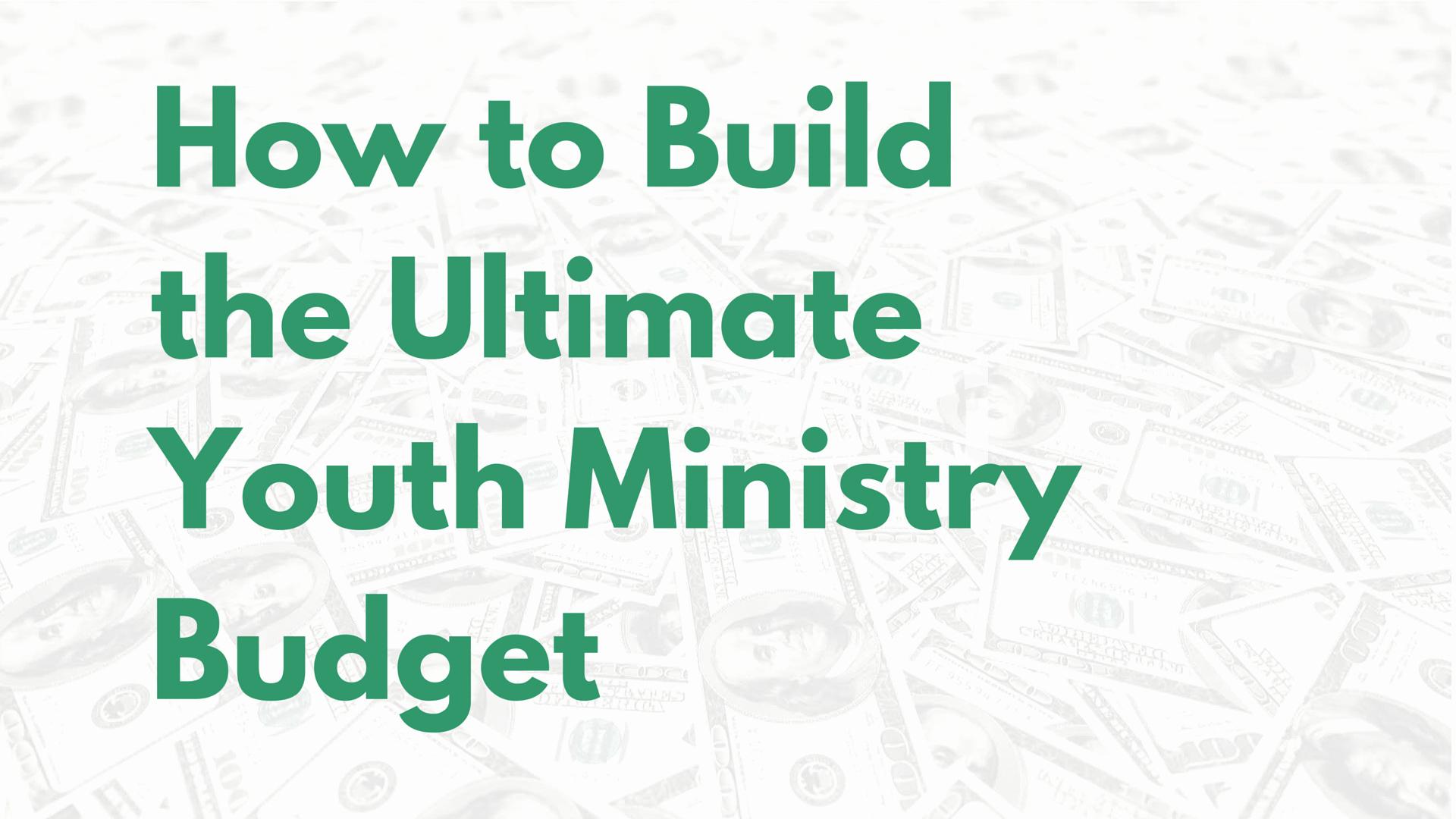 Church Ministry Budget Template Luxury Church Bud Percentage Template Youth Ministry Bud
