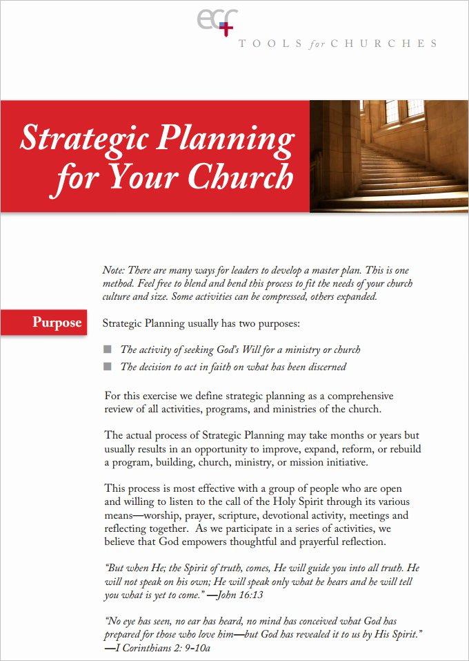 Church Ministry Budget Template Unique 11 Church Strategic Plans Doc Pdf