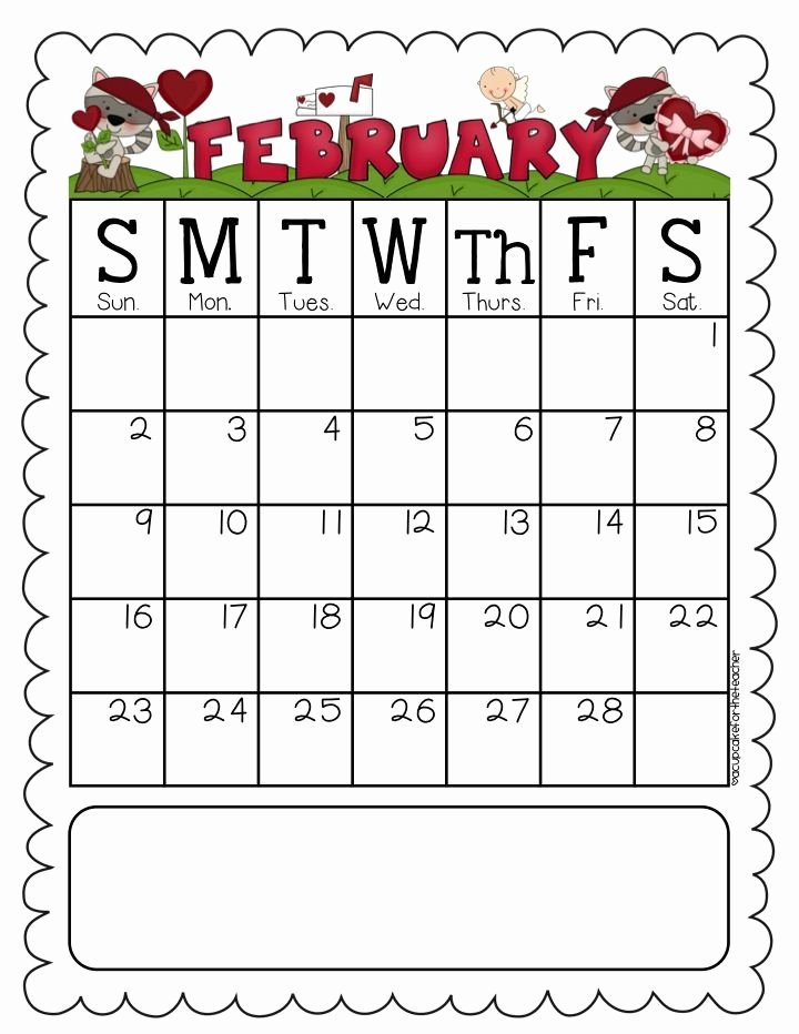 Classroom Calendar Template Elegant A Cupcake for the Teacher Behavior Calendars Editable