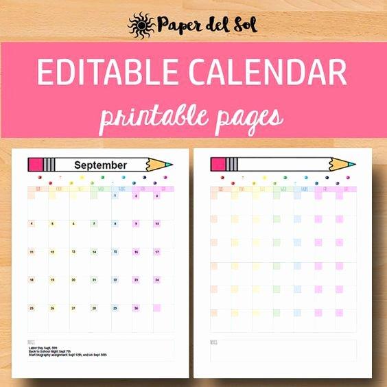 Classroom Calendar Template Inspirational Pinterest • the World's Catalog Of Ideas