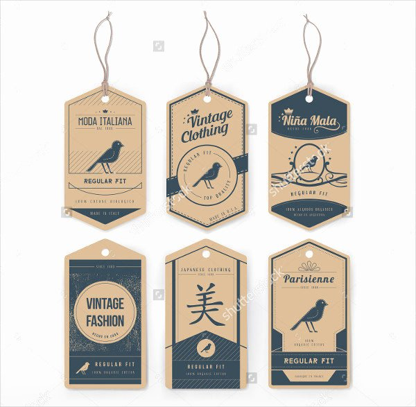 Clothing Hang Tag Template Elegant 49 Tag Templates Free Psd Ai Eps Vector format Download
