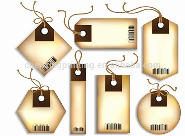 Clothing Hang Tag Template Fresh New Design Die Cut Paper Gift Tags Hang Tags Favor Tags