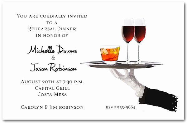 Cocktail Party Invite Templates New 43 Examples Of Wedding Invitations Psd Ai