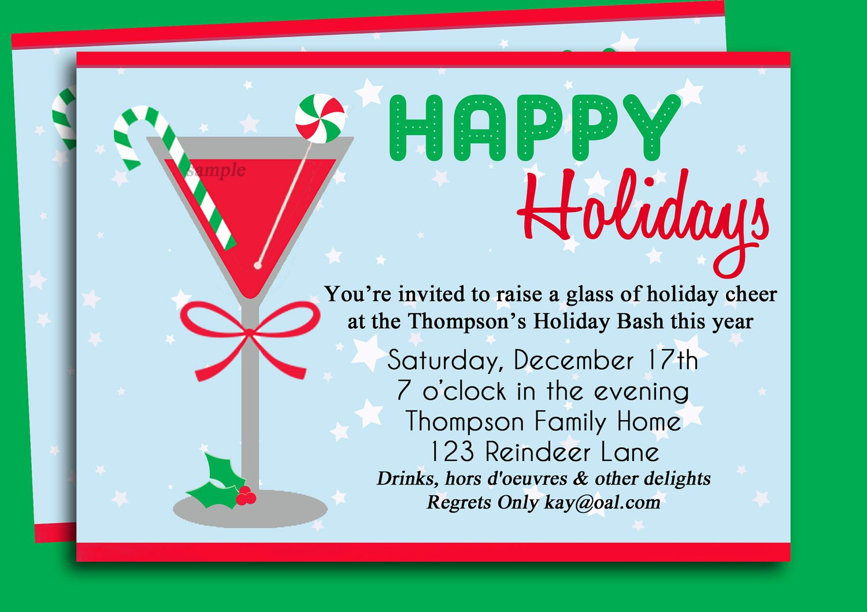 Cocktail Party Invite Templates Unique Cocktail Party Invitation Templates Free