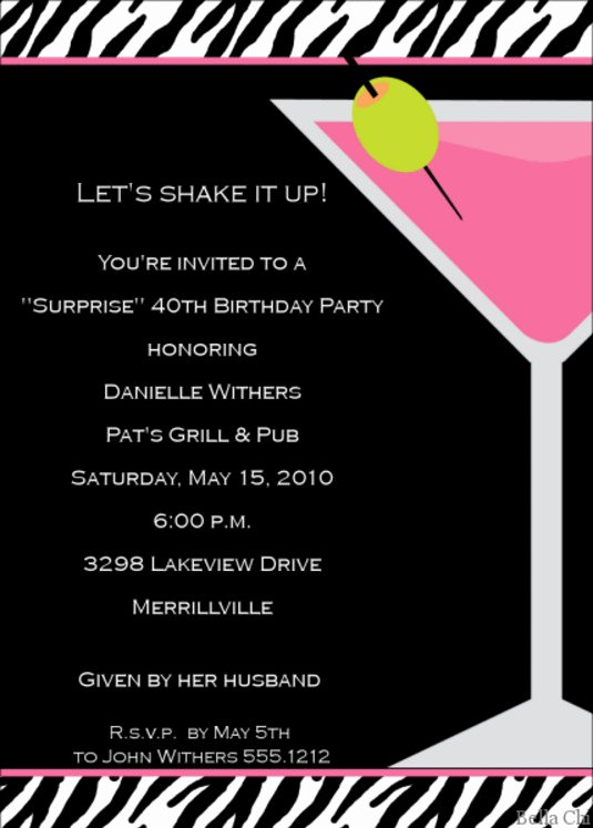 retirement cocktail party invitation wording