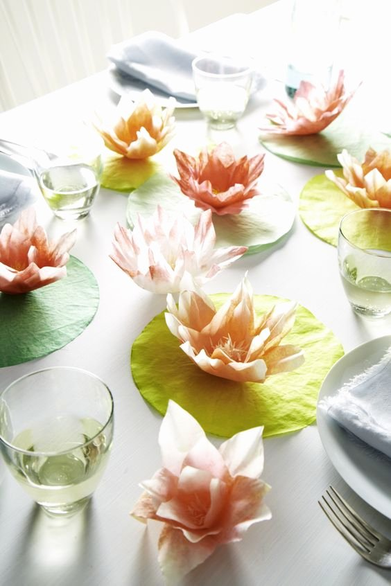 Coffee Filter Flowers Martha Stewart Awesome Coffee Filters Coffee and Lilies On Pinterest