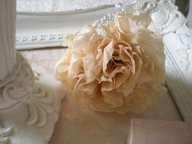 Coffee Filter Flowers Martha Stewart Best Of Roses Made From Tea Dyed Coffee Filters