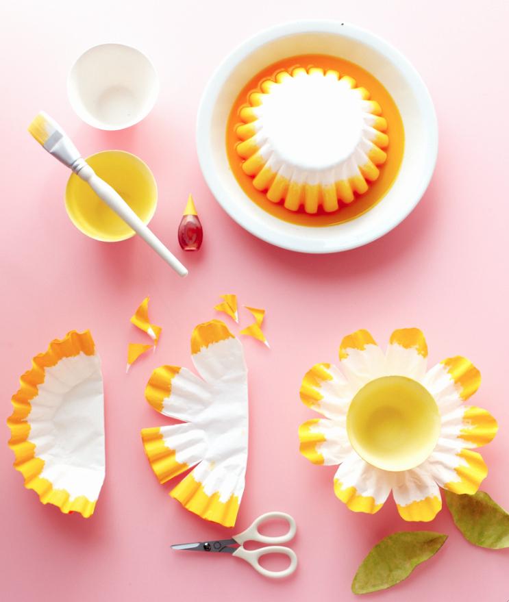 Coffee Filter Flowers Martha Stewart Inspirational Diy Projects & Crafts