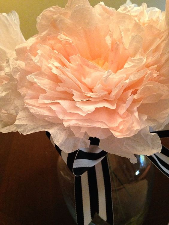 Coffee Filter Flowers Martha Stewart Inspirational Tutorials Peonies and Coffee Filters On Pinterest