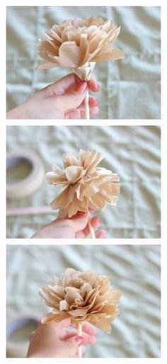 Coffee Filter Flowers Martha Stewart Luxury Coffee Filter Flowers Martha Stewart