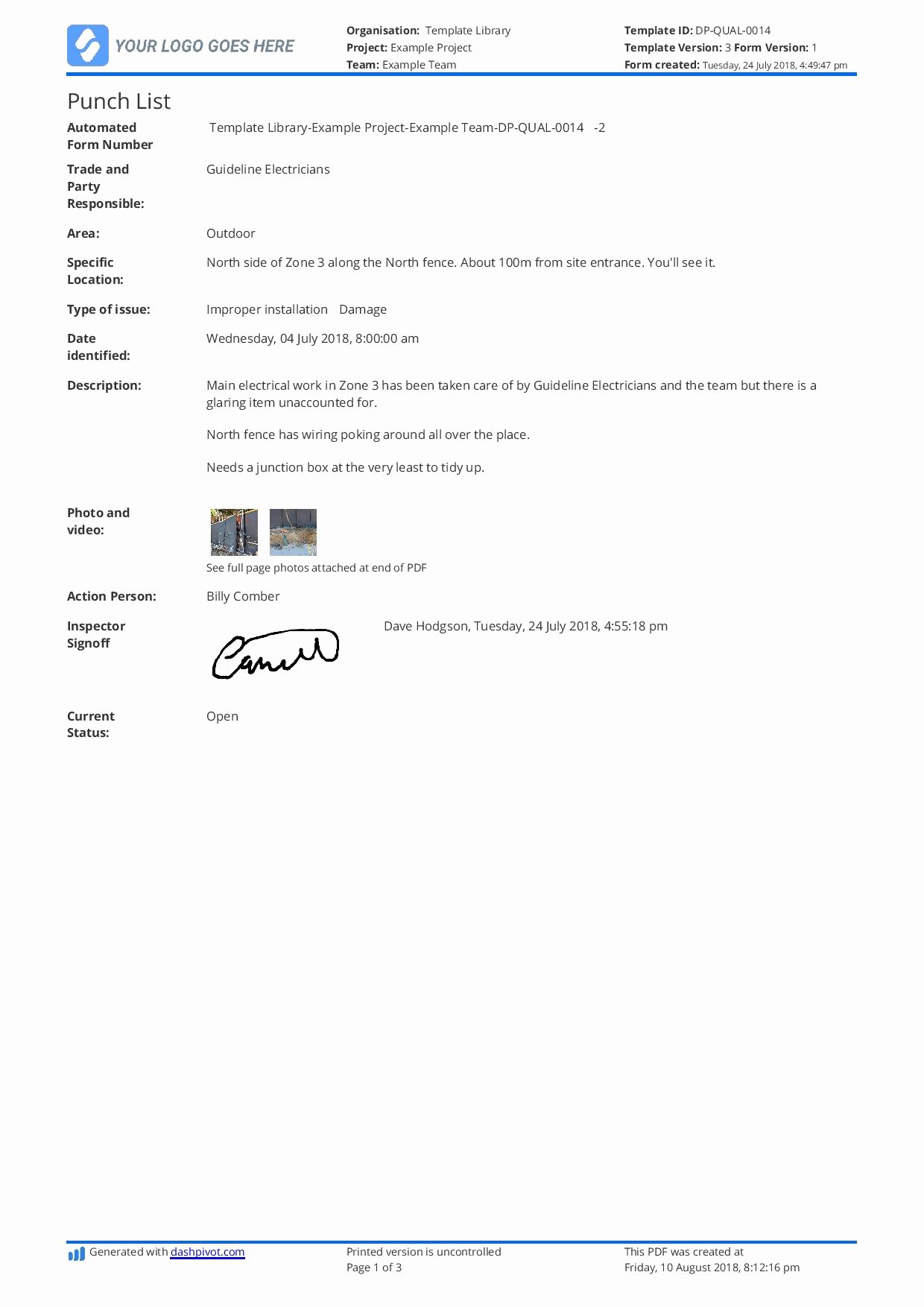 Construction Project Closeout Template Elegant Contruction Project Closeout Checklist Template Free and