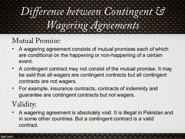 Contingency Contract Examples Best Of Contingent and Quasi Contract
