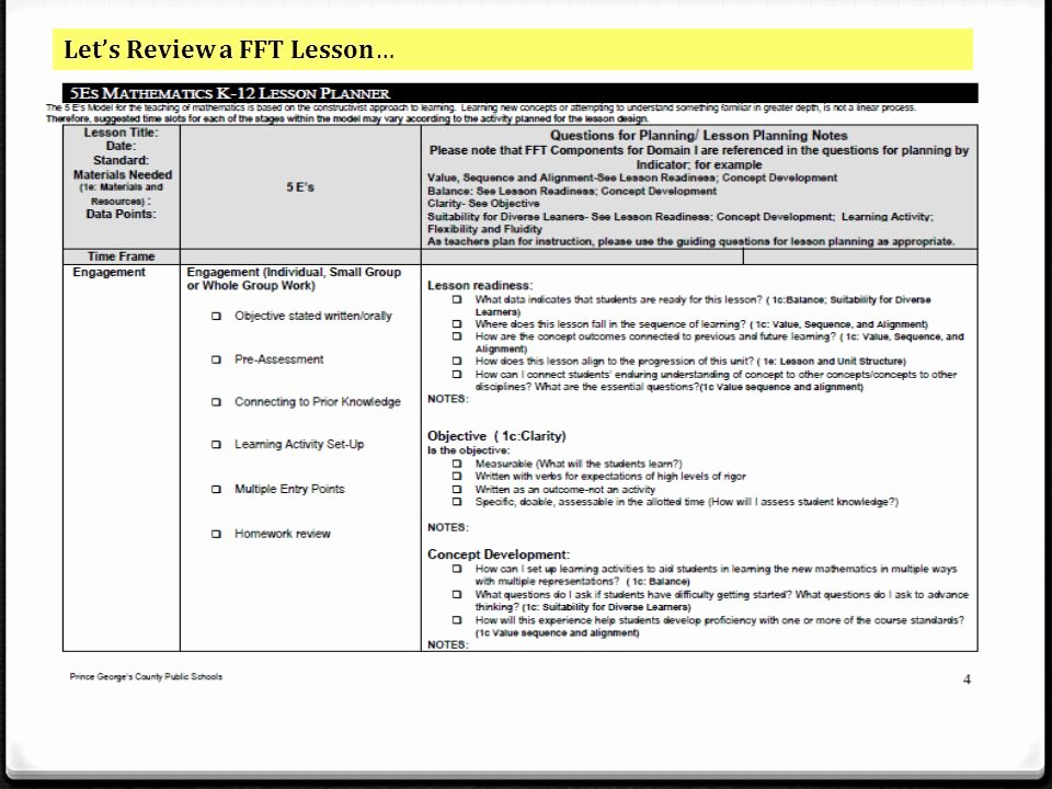 Cooperative Learning Lesson Plan Template New Mon Core Math Professional Development Ppt Video