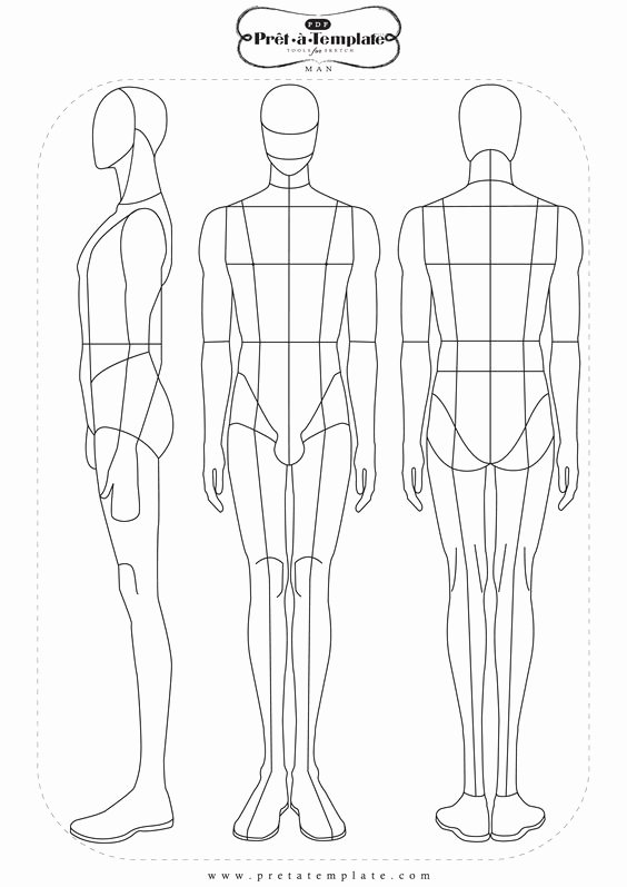 Costume Design Template Male Best Of Fashion Templates 33 Free Designs Inspiration Jpg
