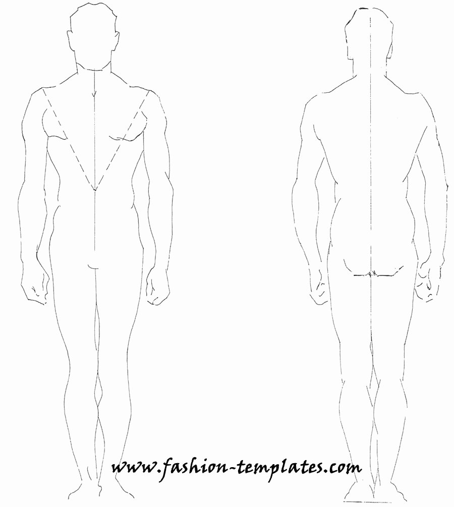 Costume Design Template Male Inspirational Technical Drawing Fashion Male by Dutoitm On Deviantart