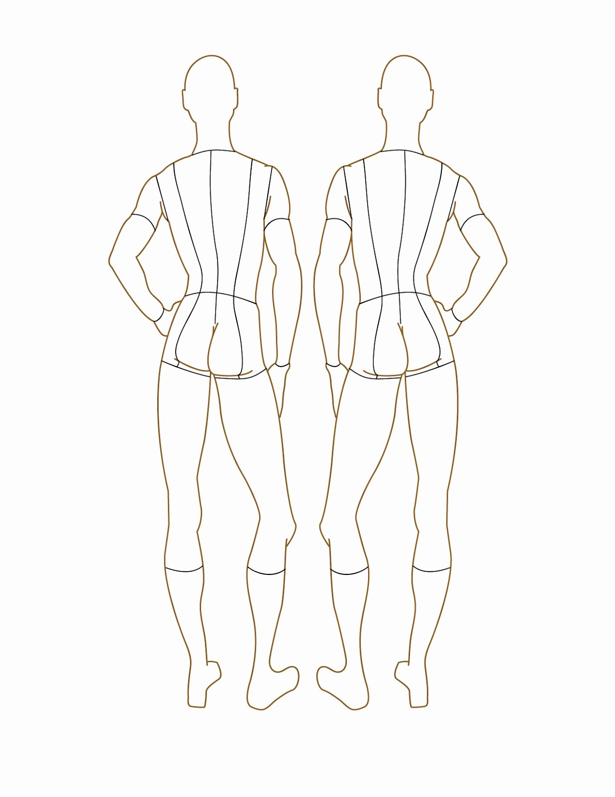 Costume Design Template Male Luxury Fashion Croquis 35 Free Examples Inspiration Jpg