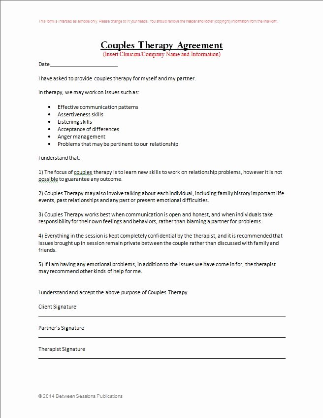 Counseling Intake form Template Lovely Between Sessions therapy Intake form