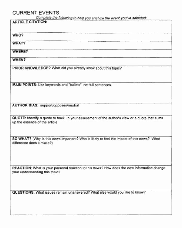 Current events Paper Outline Awesome Current event oral Report Outline
