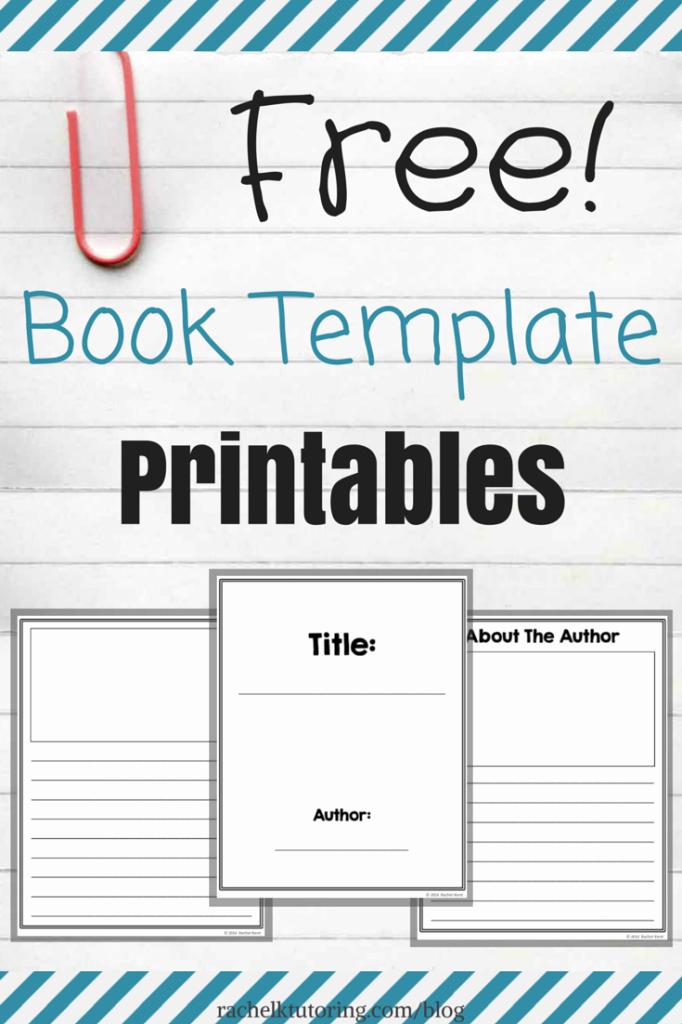Cute Printable Address Book Inspirational Free Book Template Printables Rachel K Tutoring Blog