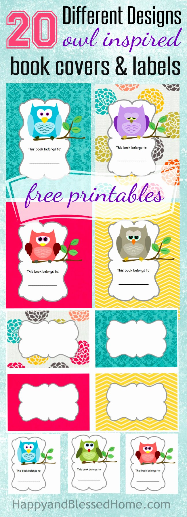 Cute Printable Address Book Luxury Free Printable Book Covers & Labels Life Of A
