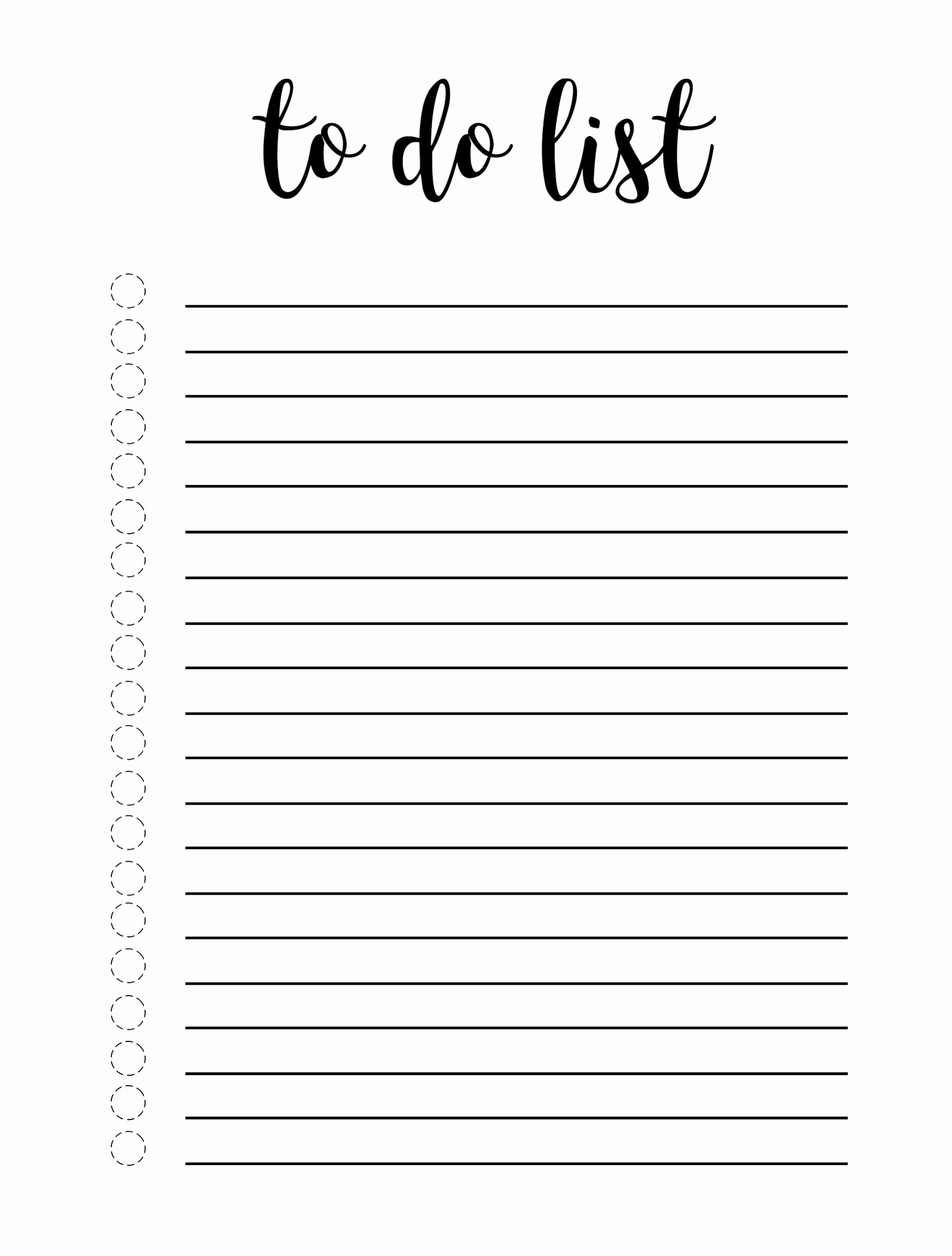 Cute to Do List Template Word Best Of Cute to Do List Template Word Excel E Platform for