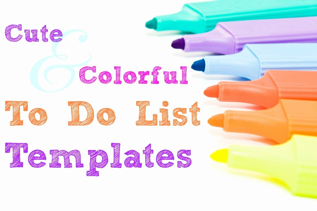 Cute to Do List Template Word Fresh Free Printable Bi Weekly Planner Cute & Colorful Template