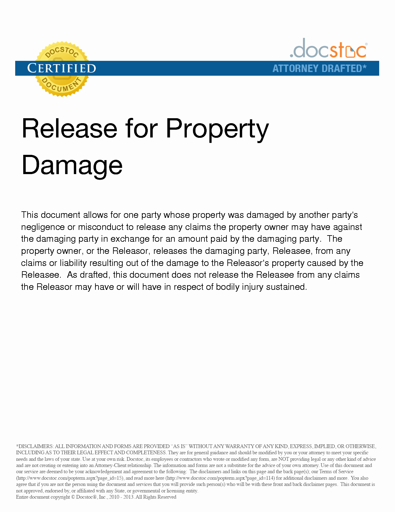 29 images of property liability release template 8950