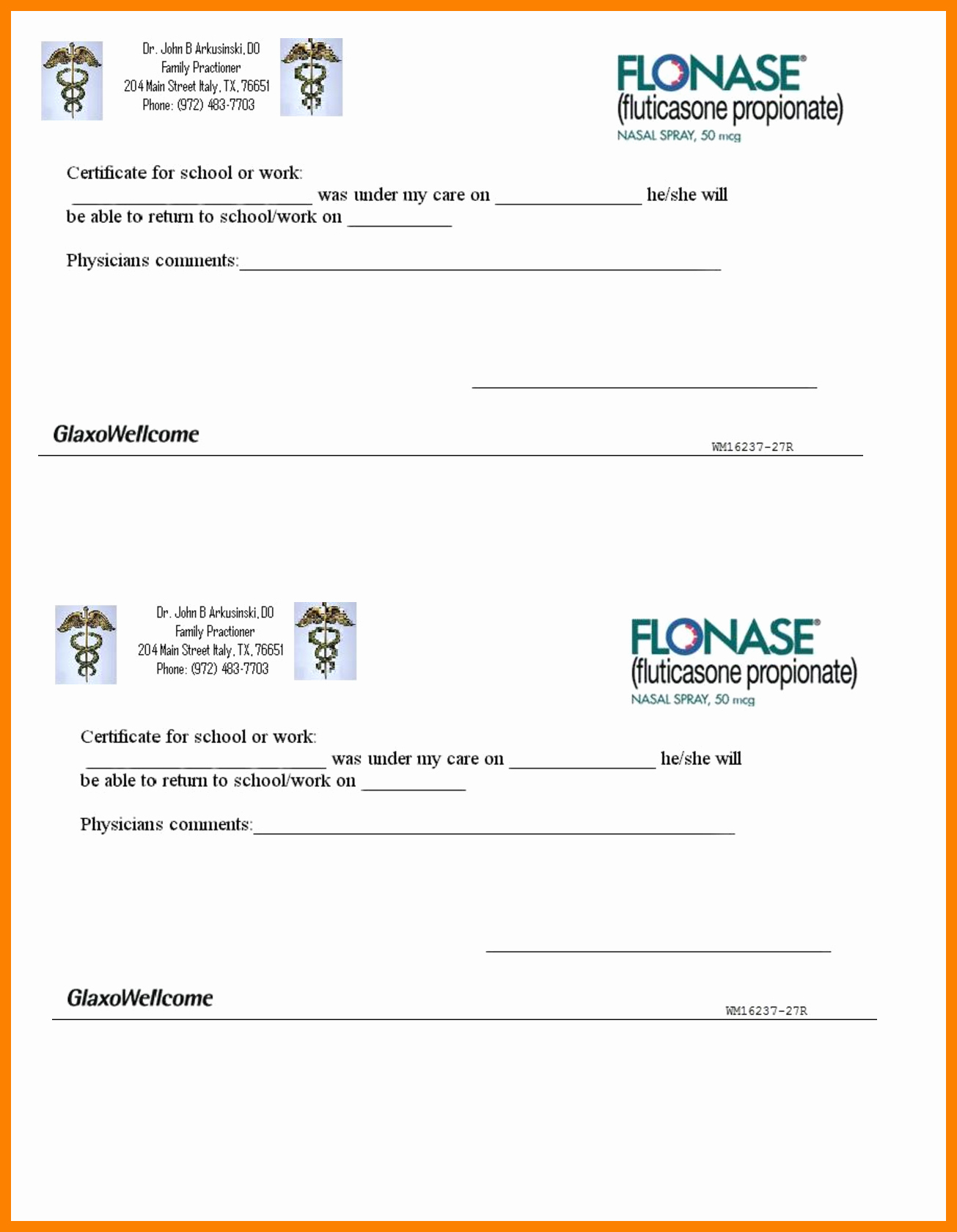 Dentist Excuse Template New Fake Doctor Notes for School