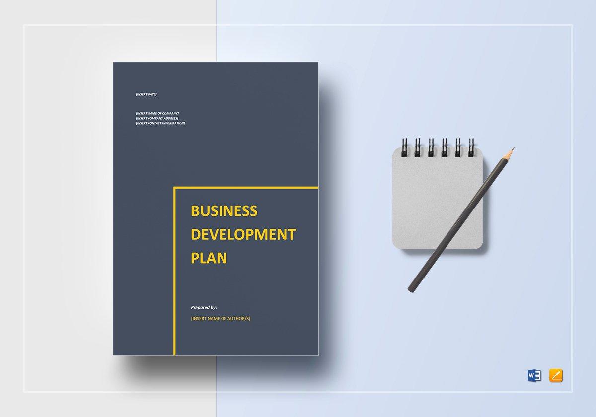 Design and Development Plan Template Lovely Business Development Plan Template In Word Google Docs