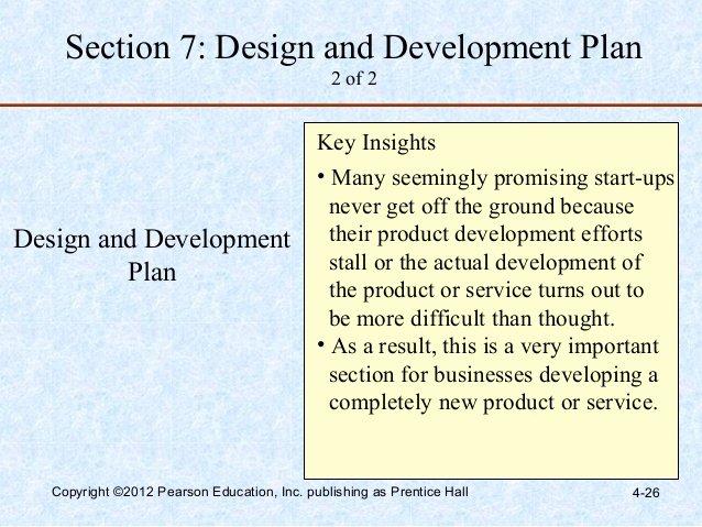 Design and Development Plan Template New Barringer E4 Ppt 04