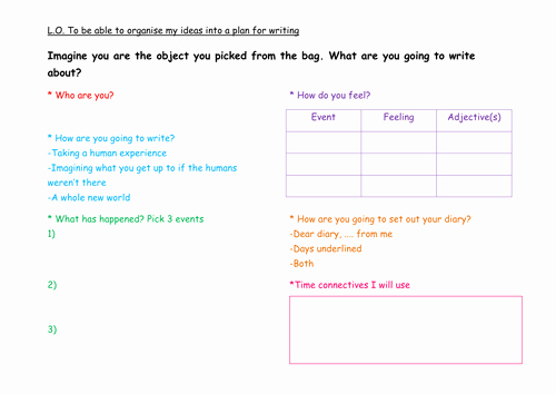 Diary Entry Template Word Lovely Diary Writing Ks2 by Dillydinsoaur Teaching Resources Tes
