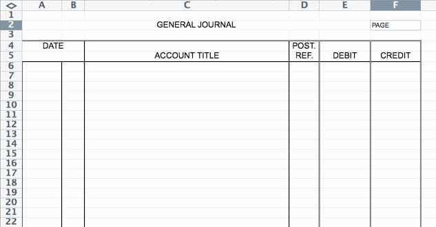 Diary Entry Template Word New 5 General Journal Templates formats Examples In Word Excel