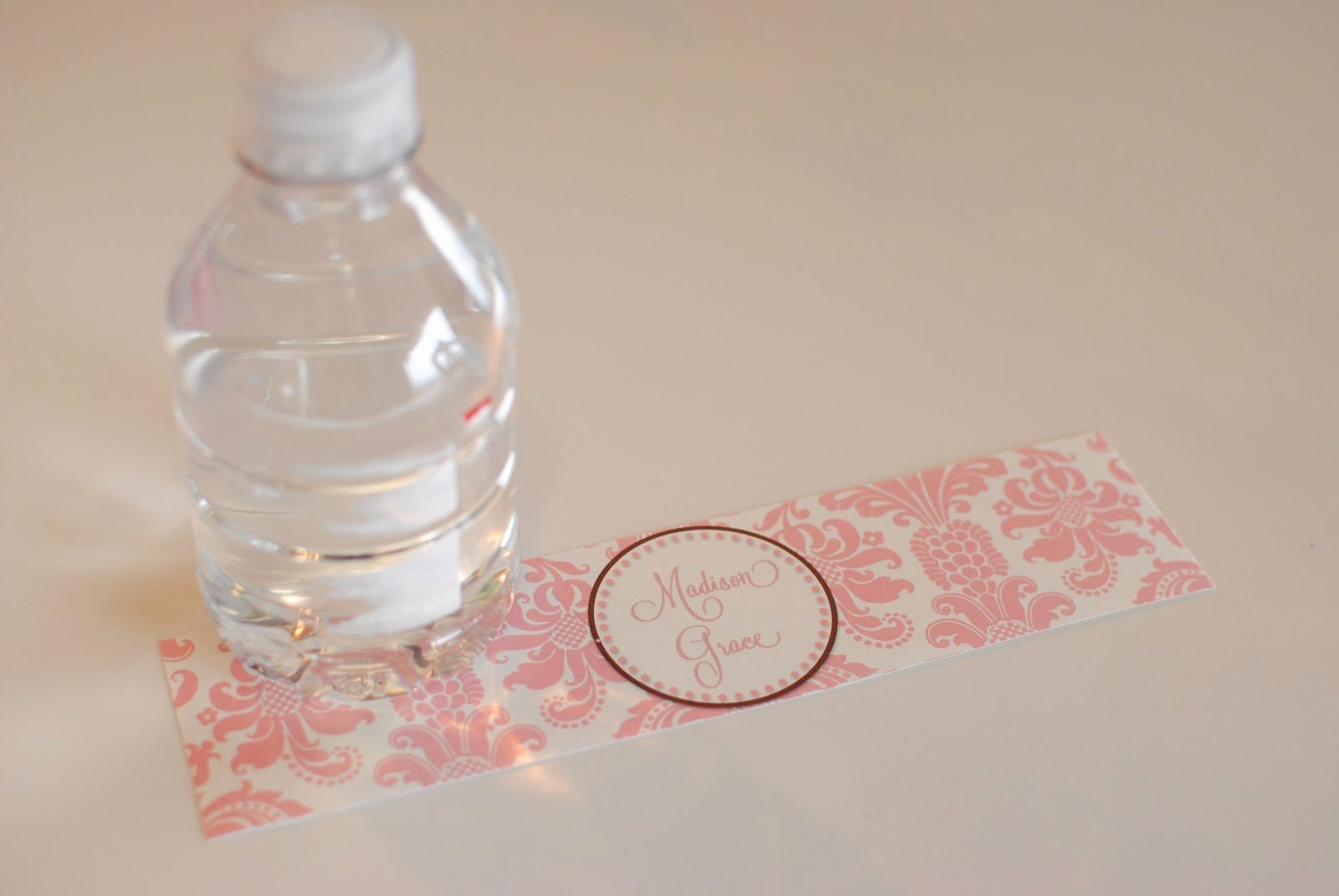 Diy Water Bottle Label Template Luxury Life Sweet Life Diy Printable Water Bottle Labels