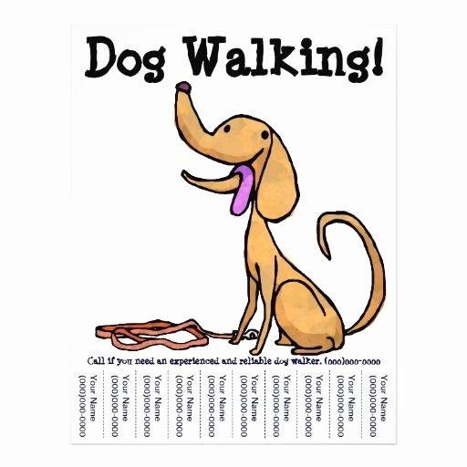 Dog Walking Template Best Of Dog Walking Flyers Google Search