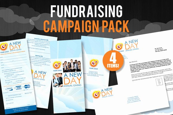 Donor Pledge Card Template Beautiful Fundraiser Pledge Card Template Adobe Indesign
