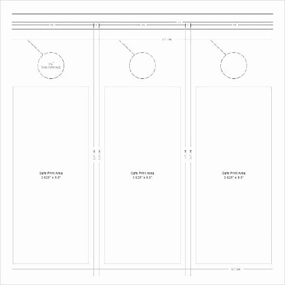 free door hanger template new gallery publisher for