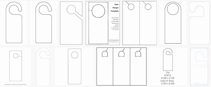 Door Knob Hanger Template Awesome About Hangers Constructions Clothes Food and Health