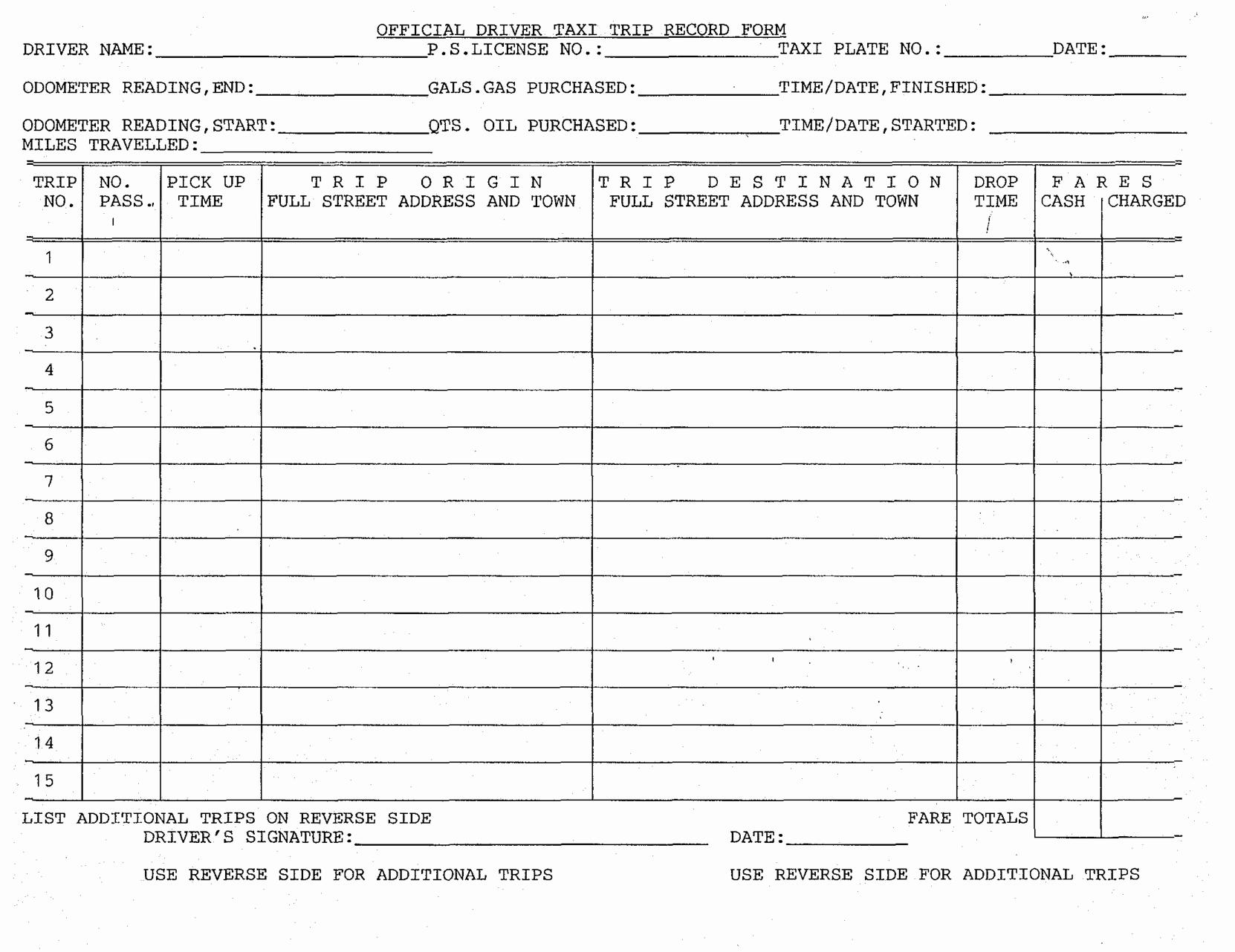 Driver Log Sheet Template Inspirational Printable Dot Log Sheet Bing Images