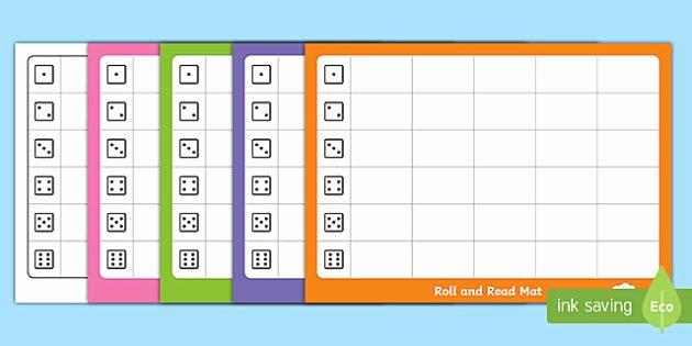 Editable Dice Template Luxury Editable Roll and Read Mat Template Phonics Ks1 Phonics