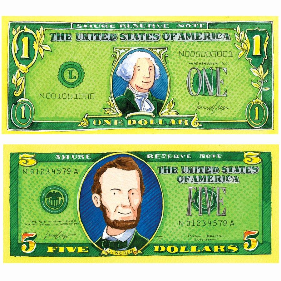 Editable Play Money Template Best Of Pretend Play Money Chelen Ecija Illustration