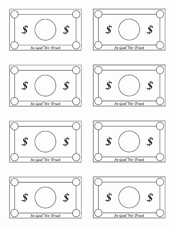 Editable Play Money Template Unique Reward System & Family General Store Plus Free Printable