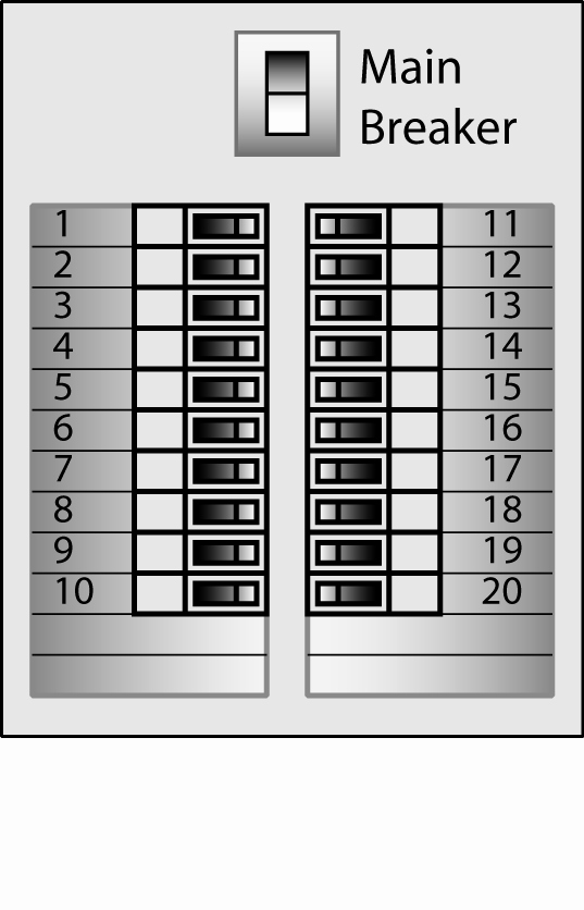 Electrical Panel Labels Template Fresh Electrical