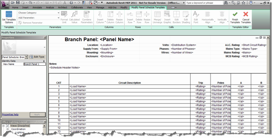 Electrical Panel Schedule Template Excel Luxury Schedule Values Template