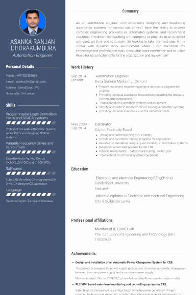 Electronics Technician Resume Sample New Electronic Technician Resume