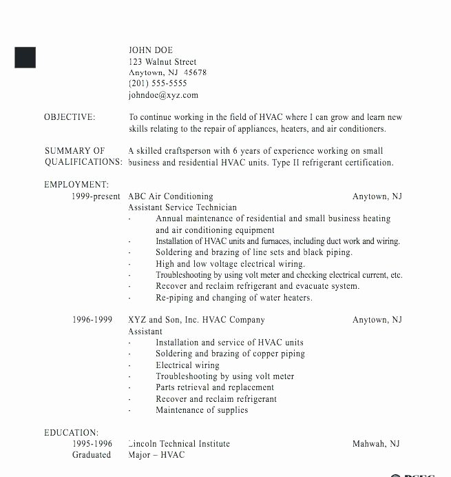 Electronics Technician Resume Sample New Resume Tutorial Pro – All About Resume Site