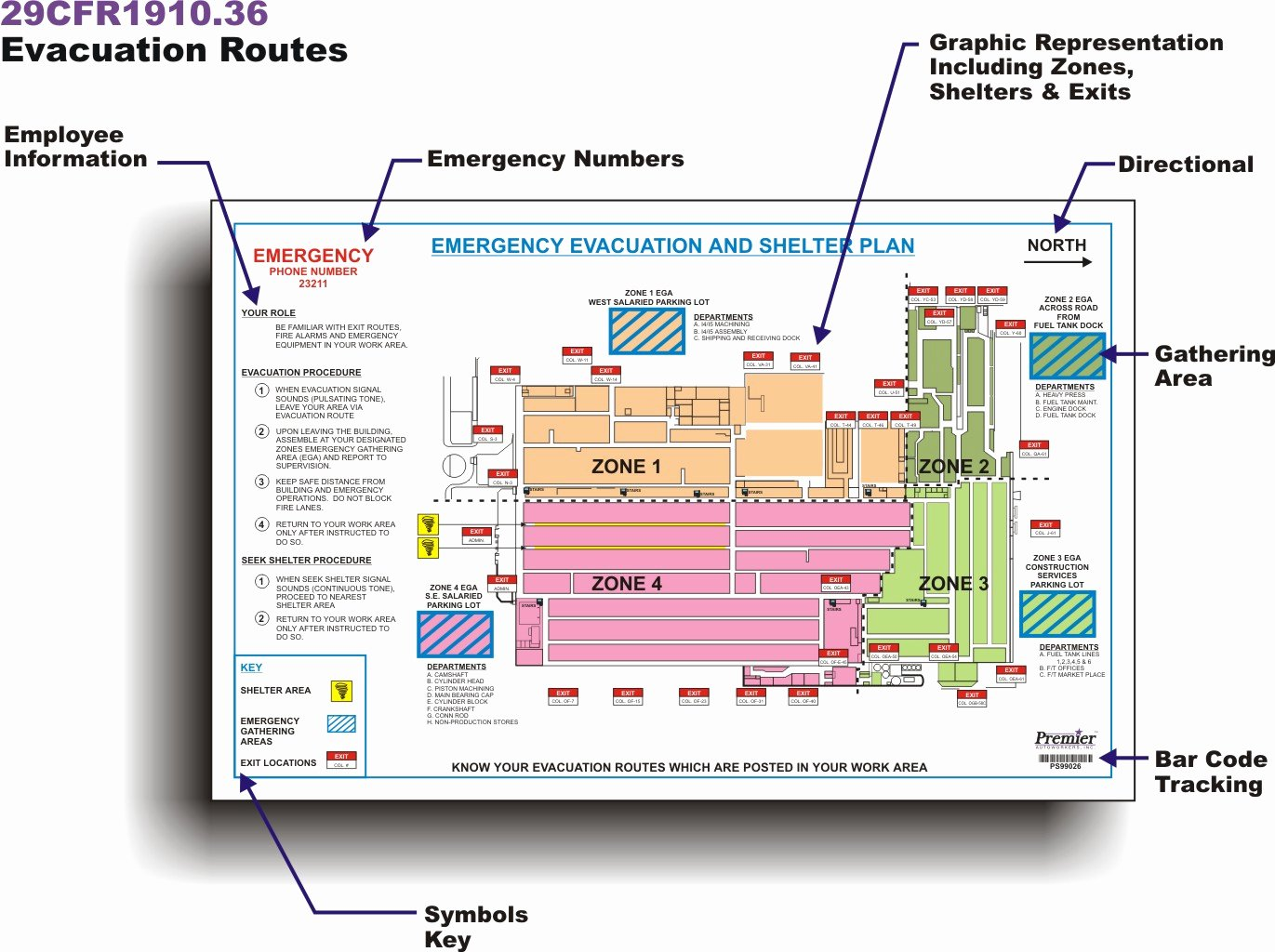 Emergency Evacuation Map Template Inspirational Emergency Plan How to Create An Evacuation Floor Plan